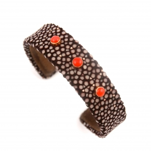 bracelet en galuchat