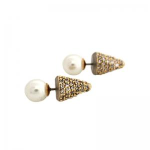 Boucles d'oreilles perle mariage
