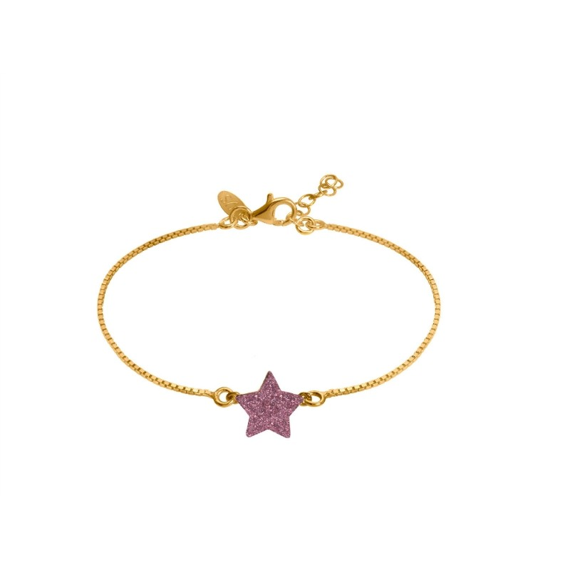 very-sisters-bracelet-etoile-rose-plaque-or-jaune